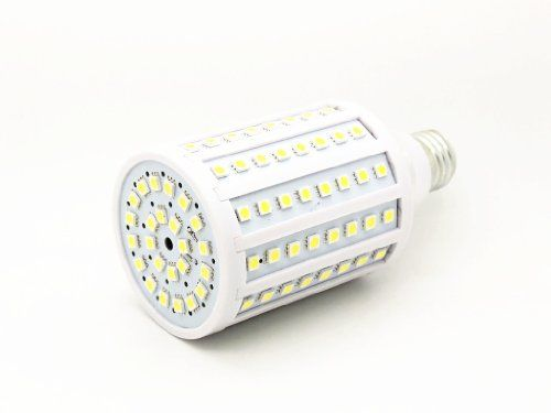 Super Bright White 6000k Dc 12 Volt To 20 Volt Medium Screw Base 120x 5050 Led Cluster E26 E27 Socket Dc 12v20v Off Grid Solar Emergency Lighting Solar Battery