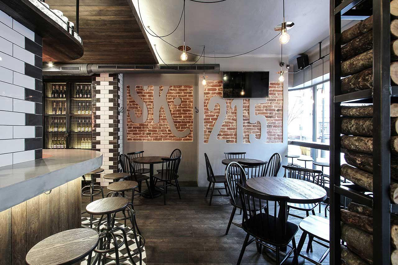 The Warm Industrial Design Of Cask 215 In Siauliai Lithuania Yatzer Bar Design Restaurant Pub Design Design