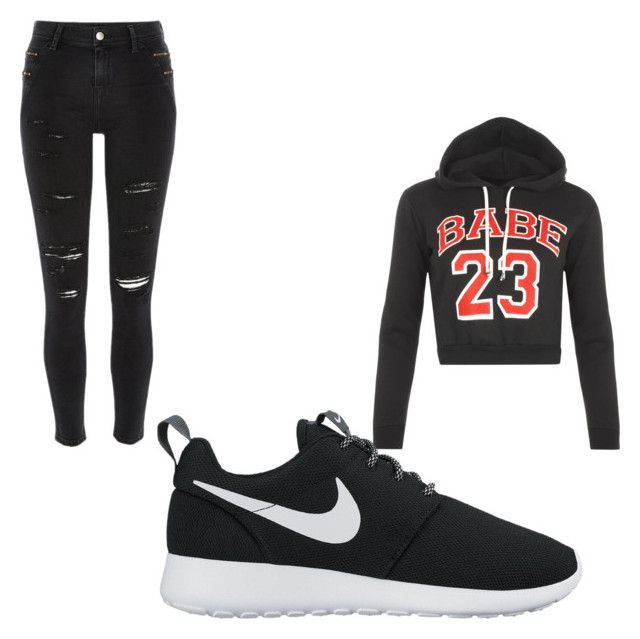 """""""Untitled #142"""" by tia12502 on Polyvore featuring WearAll, River Island and NIKE"""