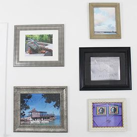 Tips for creating an attractive gallery wall