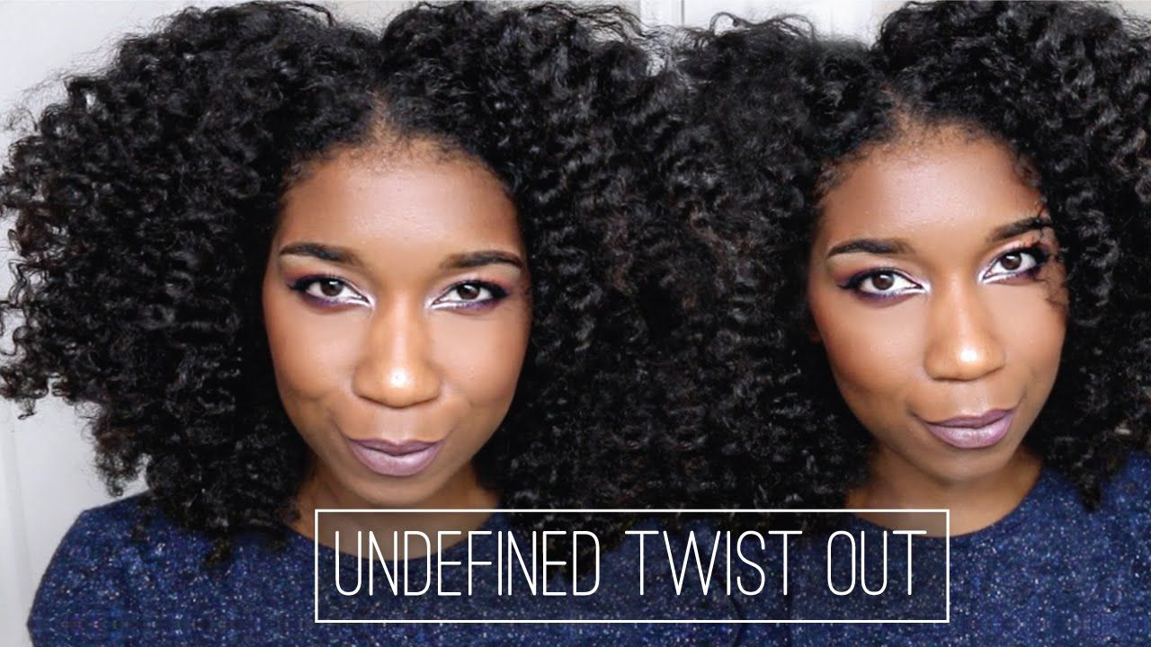 Fluffy UNDEFINED Twist Out + Refresher [Video