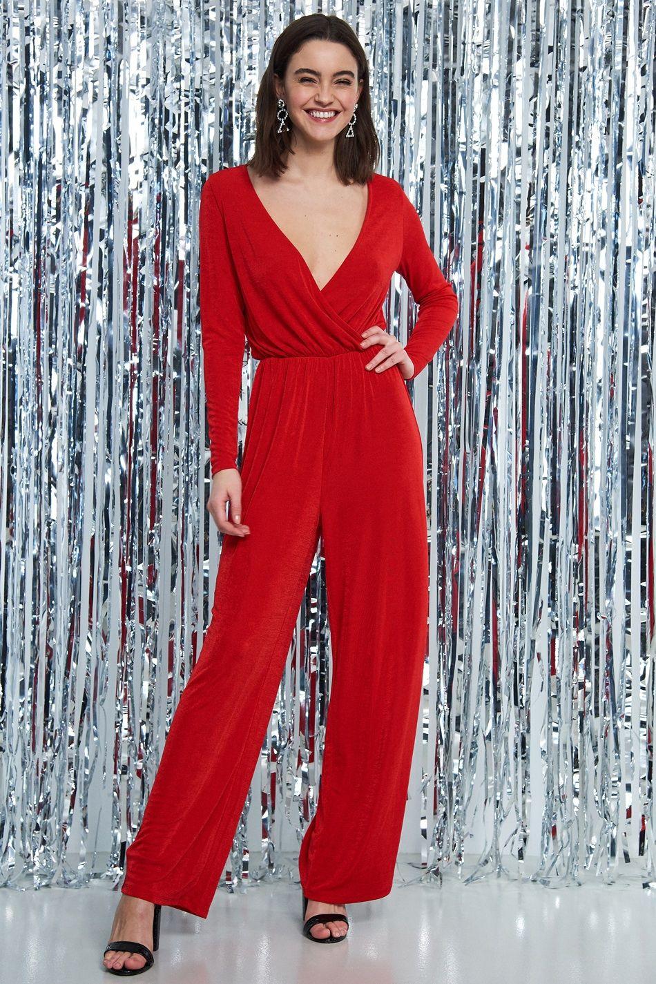 Diana jumpsuit Rød