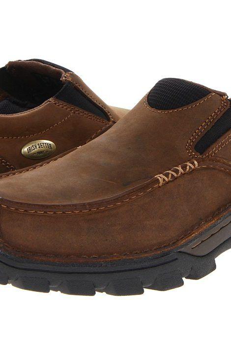 Irish Setter Borderland Slip On (Brown) Men's Slip on Shoes - Irish Setter,