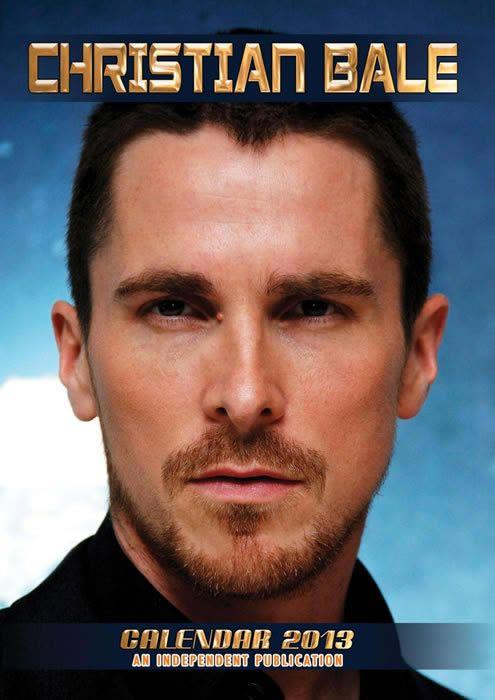 Christian Bale 2013 Calendar