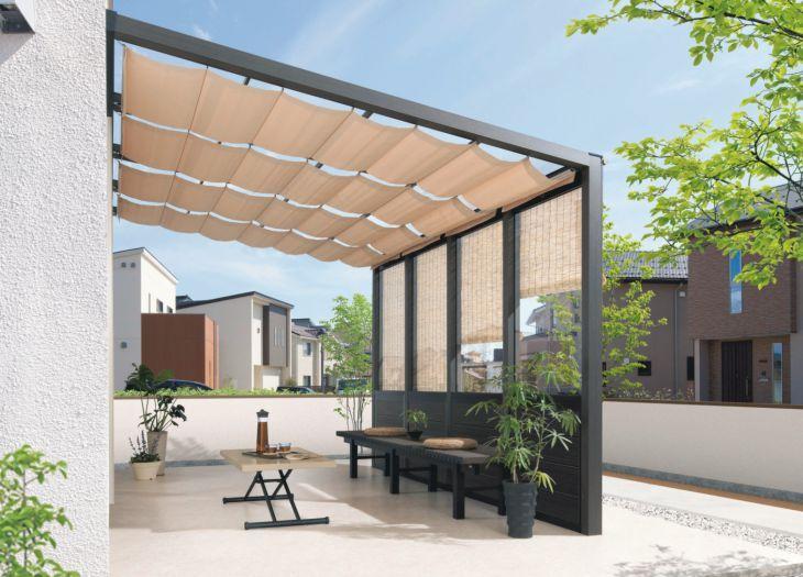 三協アルミ スマーレ サイドスルータイプ ガーデンテラス ガーデンルーム