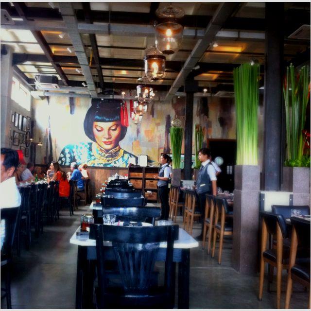Mama San, Bali. Asian Restaurant.