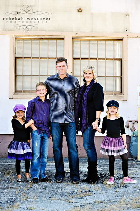 Family pics · i love the navy and purple color clothing choices photo session ideas props