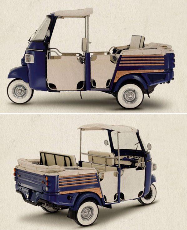 Piaggio Ape Motorroller Fahrzeuge Und Roller
