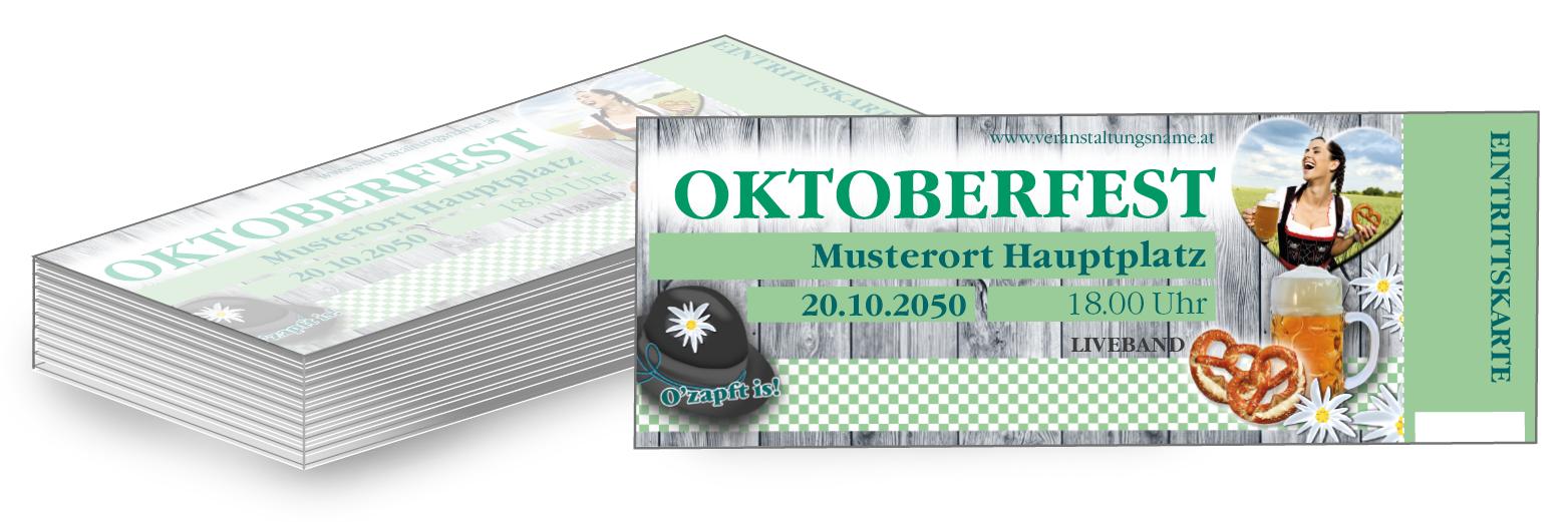 Eintrittskarten mit deinem persönlichen Touch von www.onlineprintxxl.com #wiesnfest #oktoberfest #dorffest #partyfeiern #herbst #oktober