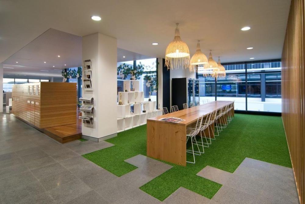 modern office meeting room interior design ideas green carpet