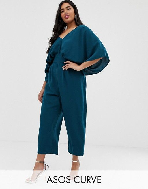DESIGN Curve jumpsuit with kimono sleeve and peg leg in 2019 ... 6a5cb73848