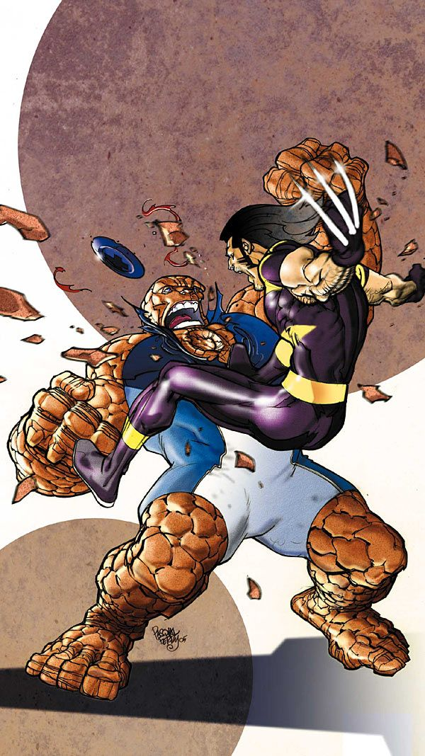 Wolverine Vs Thing
