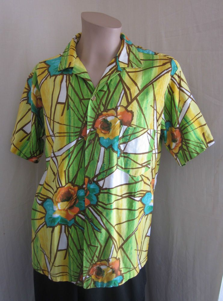 Vintage Hawaiian Shirt by Waltah du9E5WOae3