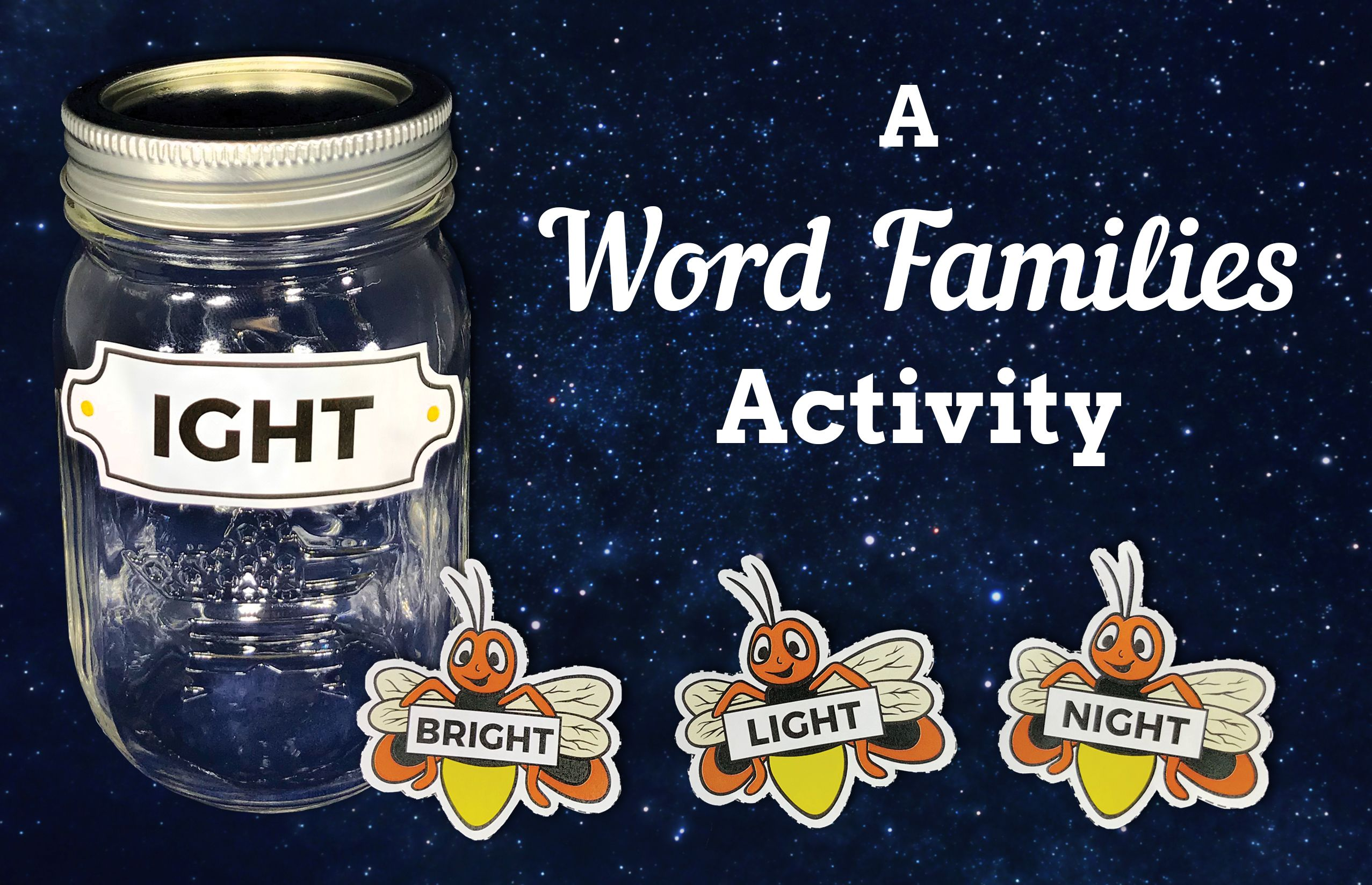 Check Out This Firefly Wordfamilies Activity From The