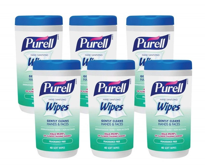 Amazon Purell Hand Sanitizing Wipes 54 Off Of Six Pack
