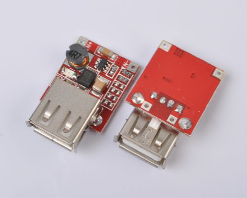DC-DC Converter Step Up Boost Module 3V to 5V 1A USB Charger for ...