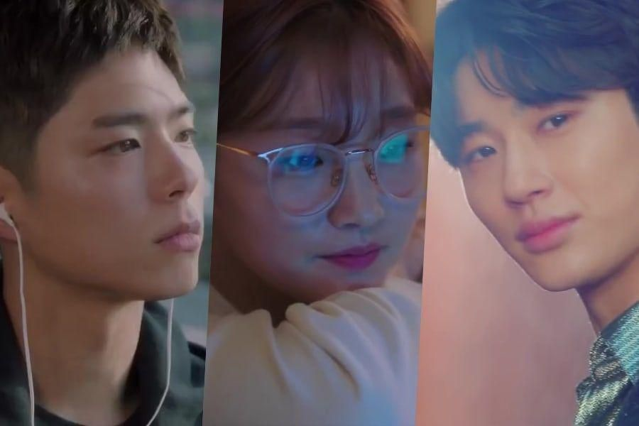 """Watch: Park Bo Gum, Park So Dam, And Byun Woo Seok Overcome Life Obstacles In """"Record Of Youth"""" Teaser"""