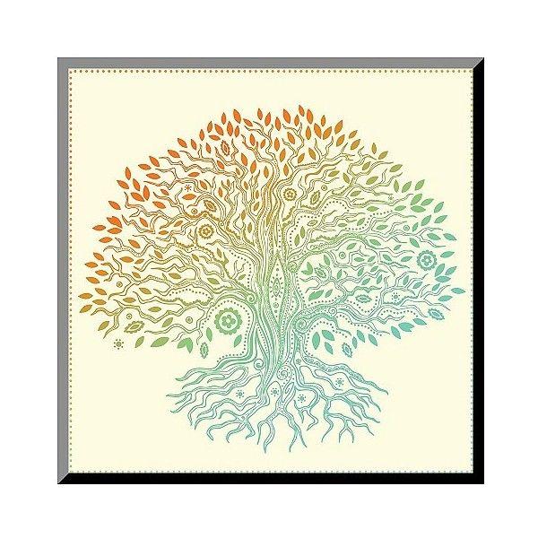 Art.com Decorative Wall Panel Beautiful Vintage Hand Drawn Tree Of ...