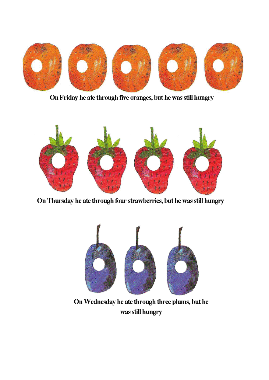 the very hungry caterpillar strawberries. Black Bedroom Furniture Sets. Home Design Ideas