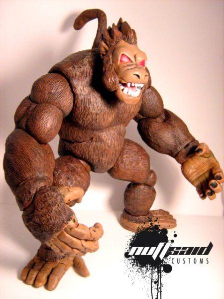 Anime Dragon Ball Z Oozaru Ohzaru Vegeta Great Ape Monkey DBZ PVC Figure Statue