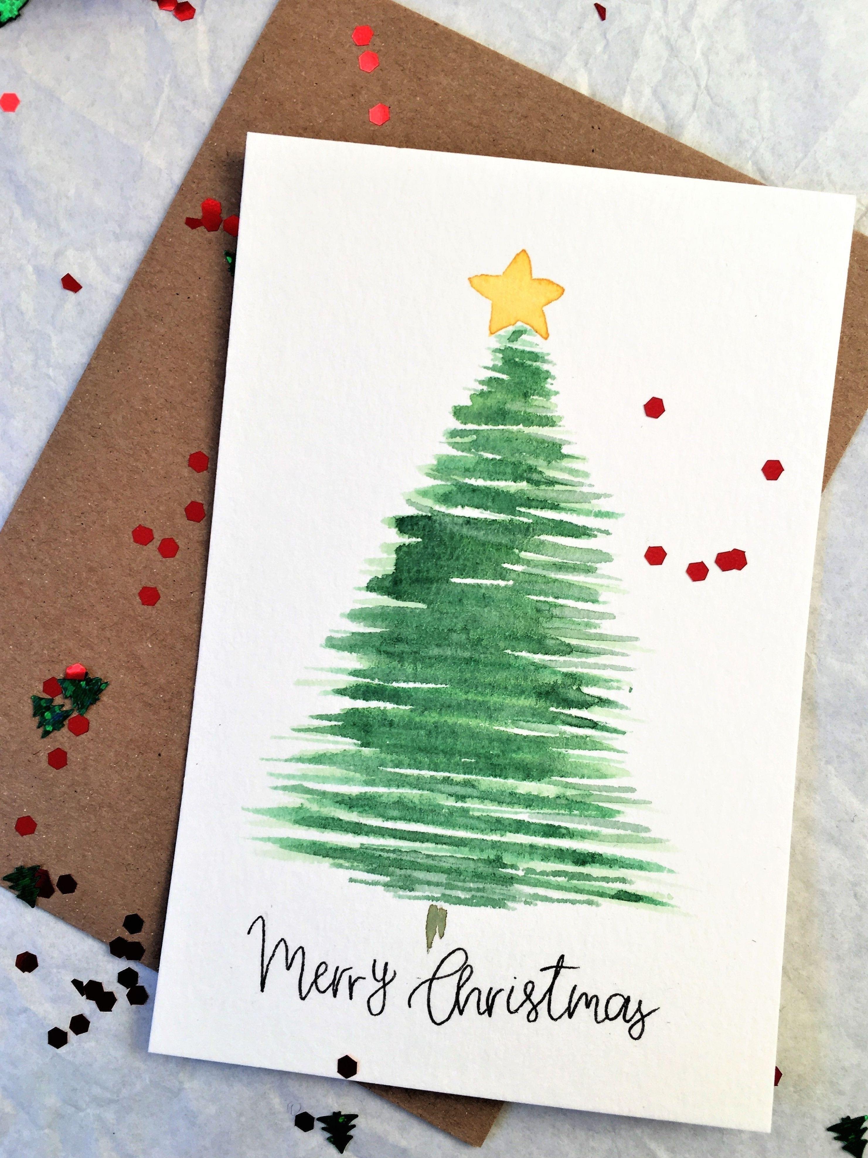 Lot de 5 cartes joyeux Noël carte de voeux à la ma