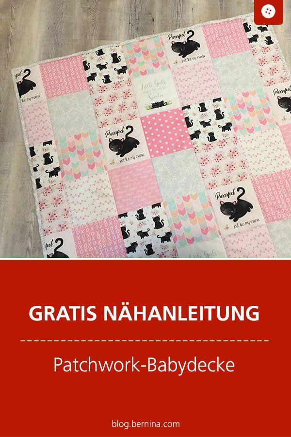 """Photo of Nähanleitung Babydecke """"Easy Patchwork"""" – ideal für Anfänger!"""