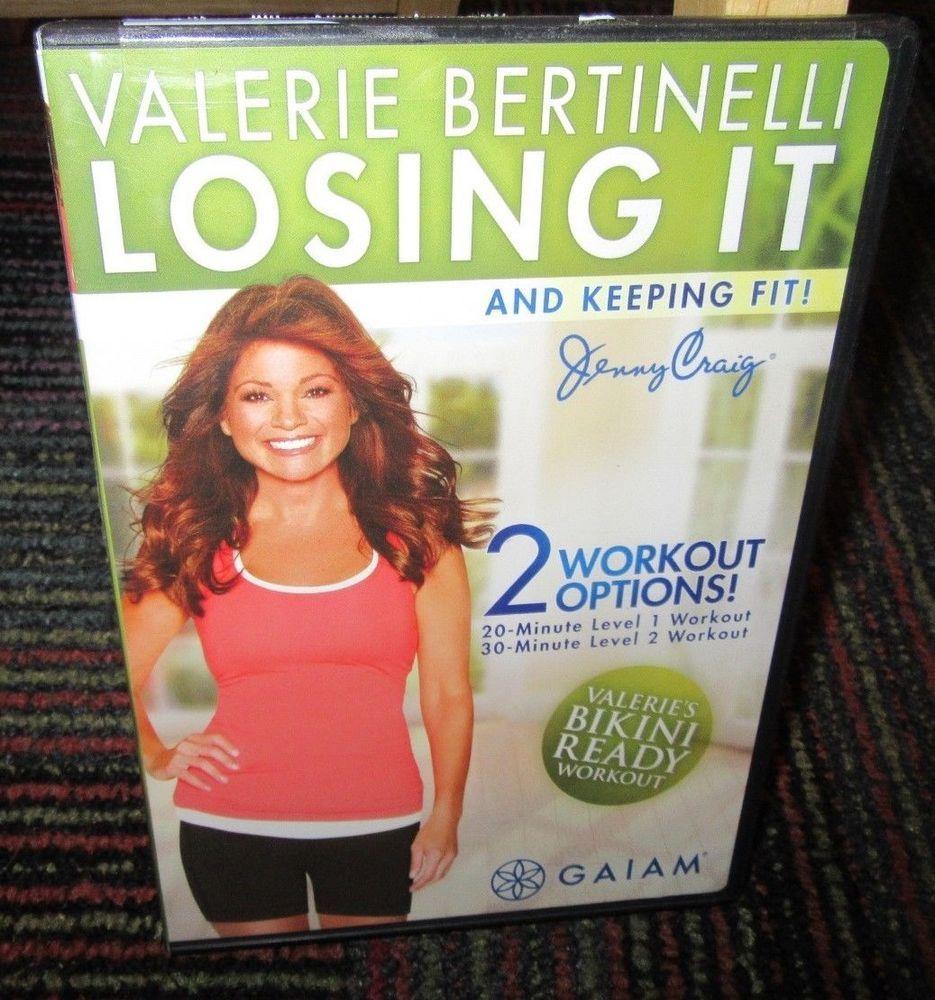 Gaiam Valerie Bertinelli Losing It Keeping Fit Workout Dvd Jenny Craig Workout Valerie Bertinelli Fitness