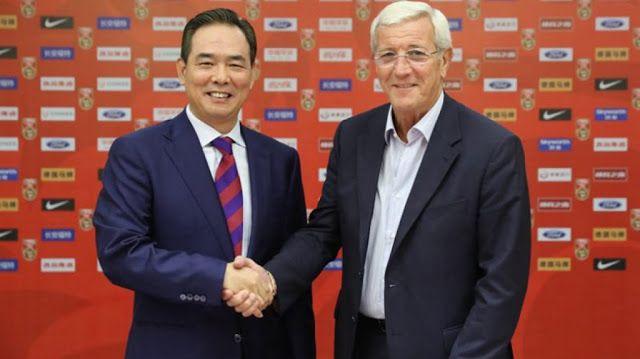 Ο Μαρσέλο Λίπι προπονητής στην Εθνική Κίνας