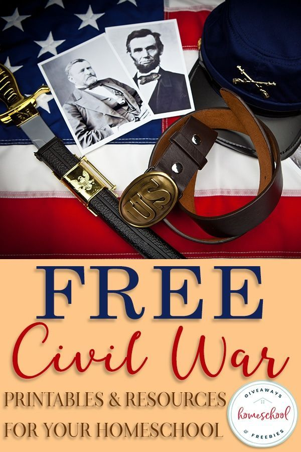 Photo of FREE Civil War Printables & Resources for Your Homeschool – Homeschool Giveaways