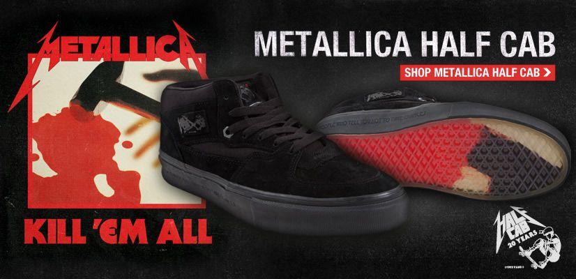 a5a0953b55 Metallica Vans Vans Shoes