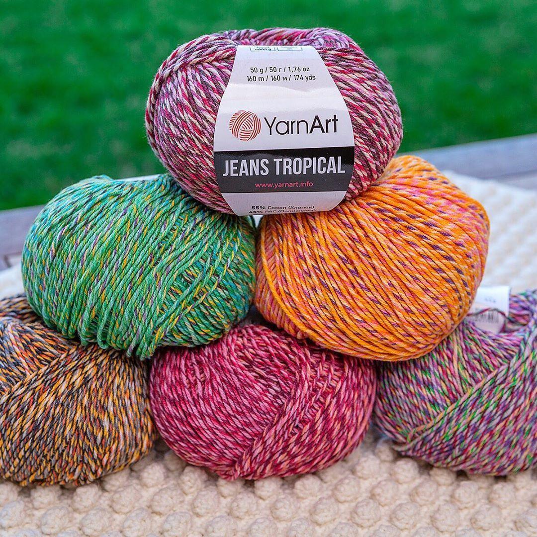 250g 1000mt YARNART FLOWERS YARN cotton yarn color yarn colorful