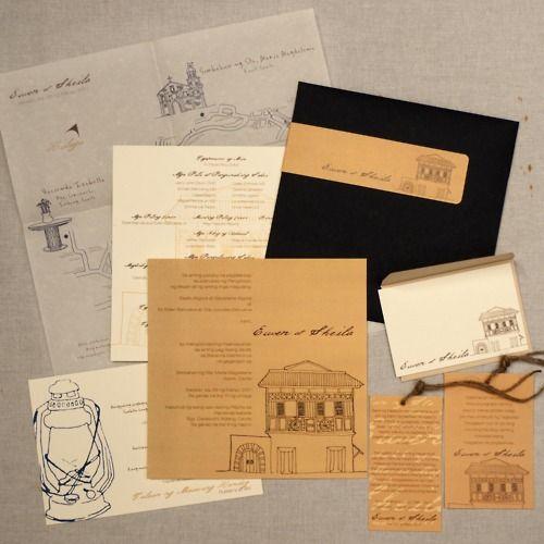 Wedding Theme Ideas Philippines: Filipino Wedding Invitation