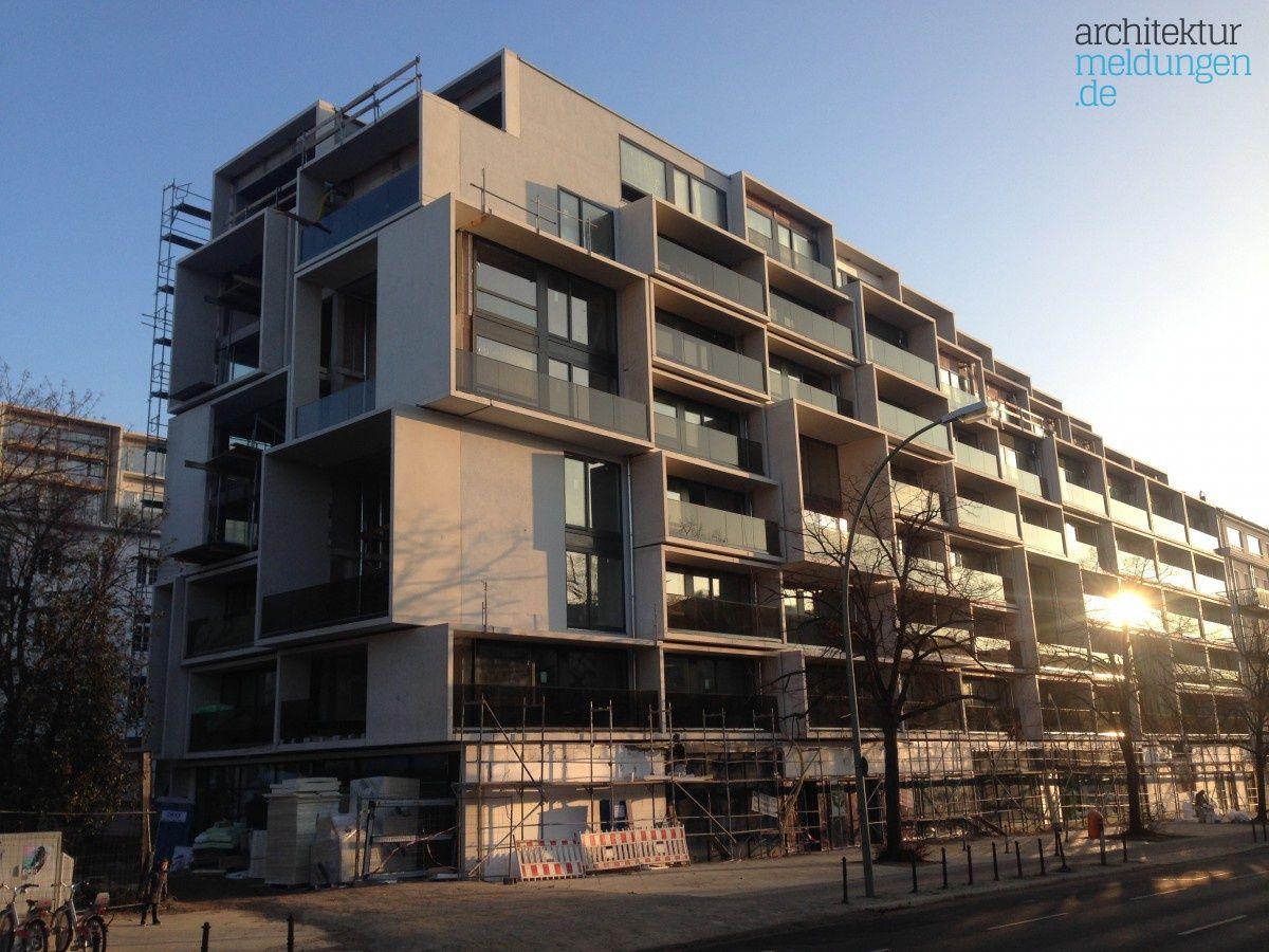 Kurz Vor Der Fertigstellung Paragon Apartments Berlin Prenzlauer Berg Graft Architects Architekturmeldungen De Architektur Prenzlauer Berg Berg
