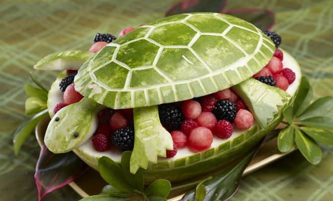 Watermelon: 16 Artistic and Creative CarvingTips - American Profile