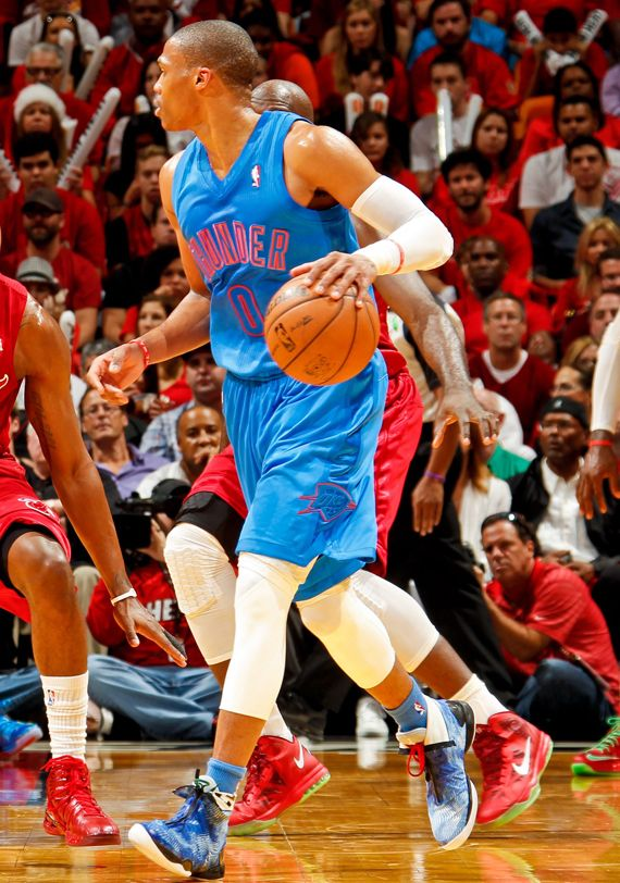 Russell Westbrook in Air Jordan XX8 Christmas- how westbook makes those  stripper boot jordans looks so good 6c04f62b5a