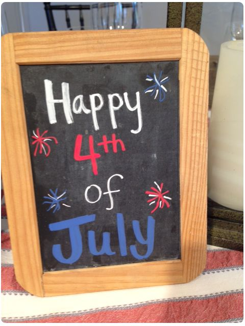 A 4th of July Tablescape!