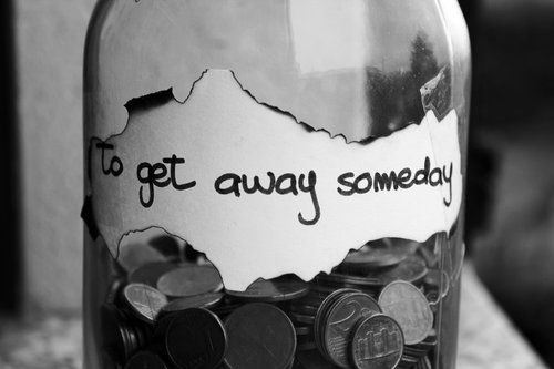 To Get Away Someday Quotes Photography Black And White