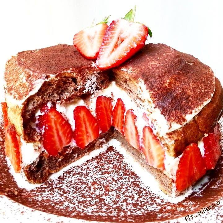 Erdbeer tiramisu blechkuchen