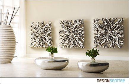 Products / Square Root Wall Sculptures / DESIGNSPOTTER.COM The root of a  colossal Lychee
