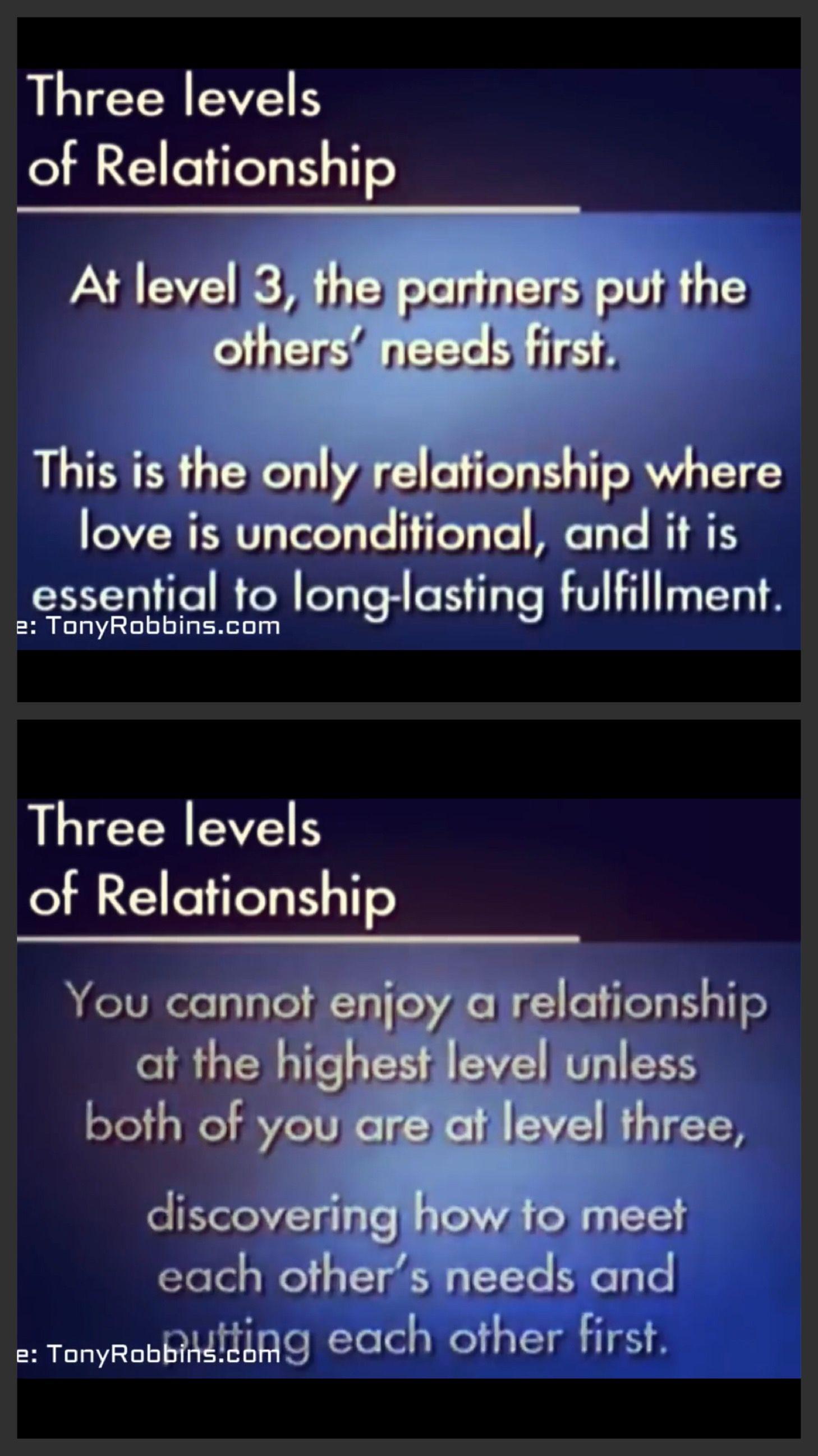Level 3 Relationships