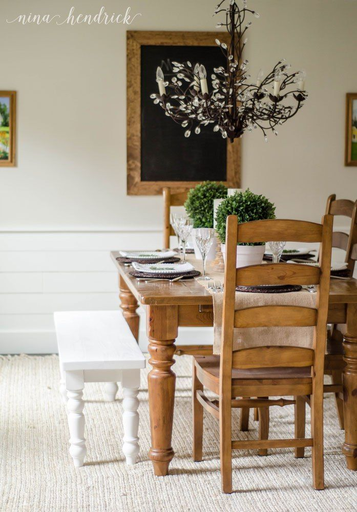 Dining Room Makeover Best Farmhouse Dining Room Makeover  Room Farmhouse Table And Room Ideas Inspiration Design
