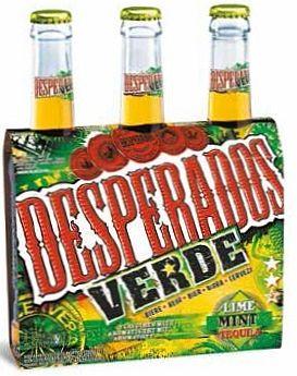 Desperados Verde Beer Bottle Drinks