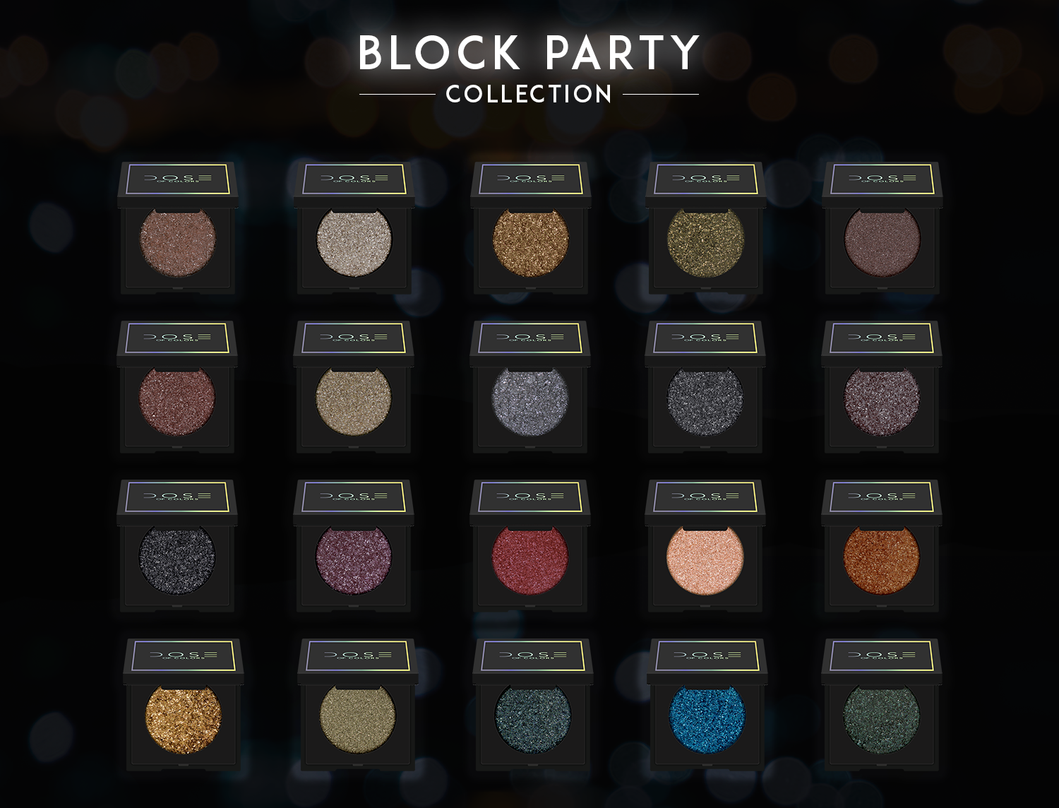 Block Party Single Eyeshadow Collection 400 Bundle Includes All 20 Shades Caffeine Queen Double Take Enco Eyeshadow Eyeshadow Collection Single Eyeshadow