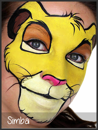 lion maquillage maquillage pinterest lion maquillage et maquillage enfant. Black Bedroom Furniture Sets. Home Design Ideas