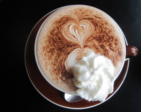 This delicious coffee drink combines the best of hot chocolate with coffee. Creamy chocolate coffee