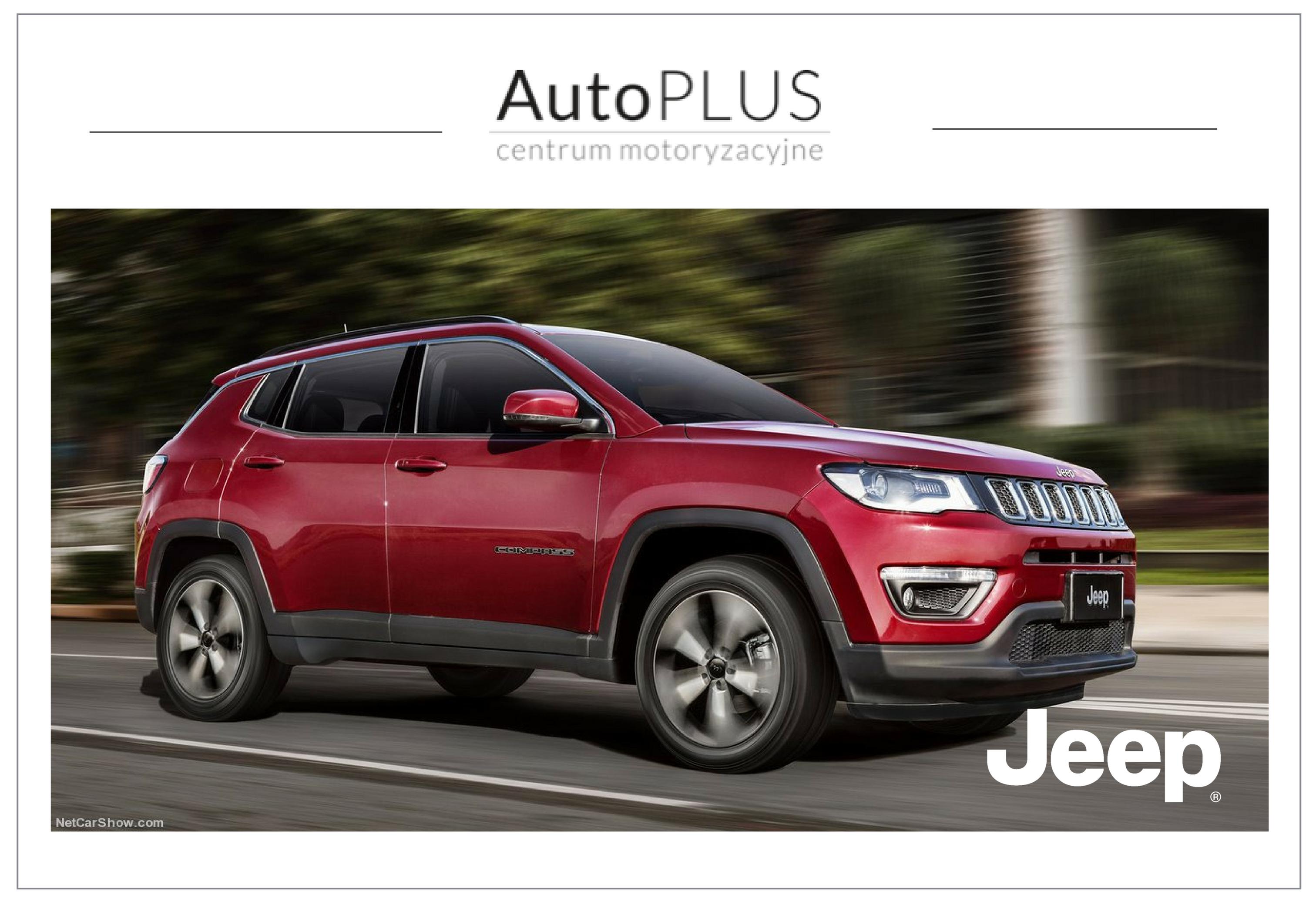 Jeep Compass 2017, new Car Jeep, Jeep Gdańsk. Sprzedaż i