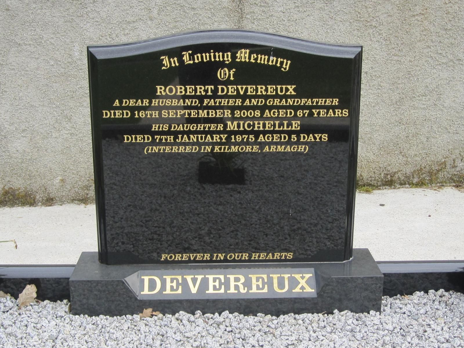 Black Granite Headstones : Headstone prices black granite with recessed