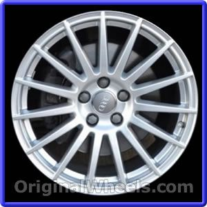Oem 2008 Audi A4 Rims Used Factory Wheels From Originalwheels Com
