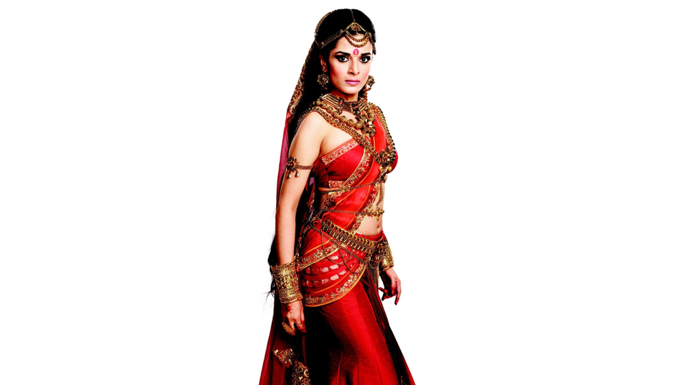 1080p Star Plus Mahabharat Hd Wallpaper In 2020 Pooja Sharma Indian Wear Krishna Pictures