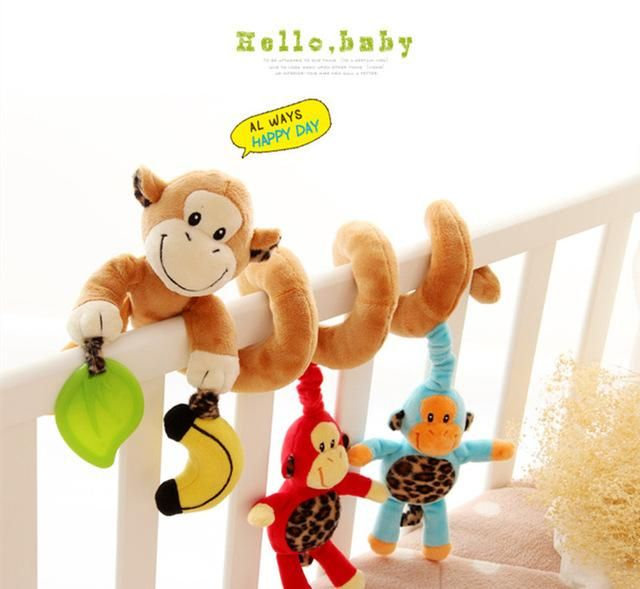 Jollybaby baby stroller multifunctional bed hanging toy